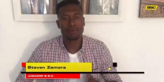 Steven Zamora es el nuevo refuerzo de Barcelona SC
