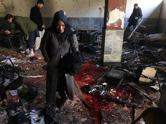 Atentado deja más  de 40 personas  muertas y 80 heridas