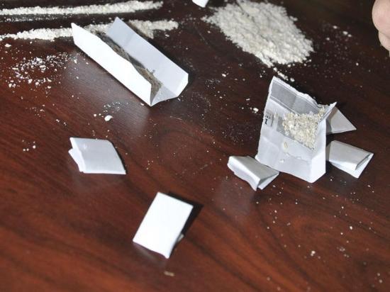 Hallan marihuana y cocaína en operativo