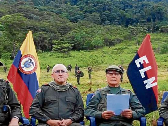 ELN mantendrá diálogo pese a culminación del acuerdo de cese al fuego