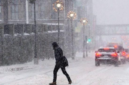 Hasta 30 grados bajo cero ha provocado oleada de frío en Canadá
