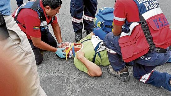 4 heridos en choques