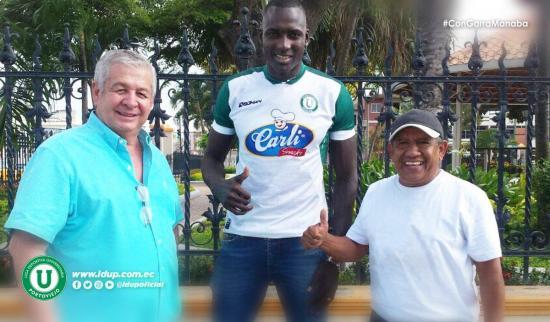 Richard Mercado es el nuevo delantero de Liga de Portoviejo
