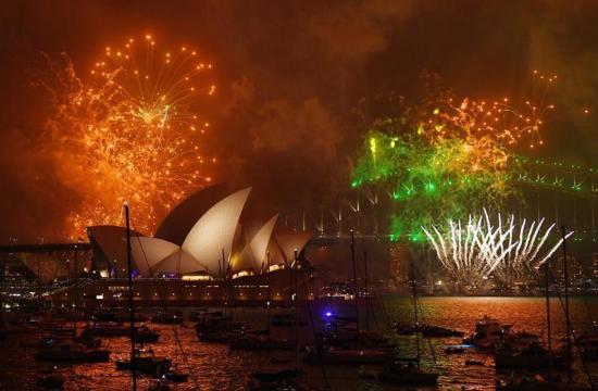 El año nuevo 2018 ya se celebra en países como Australia, Nueva Zelanda y Corea del Sur