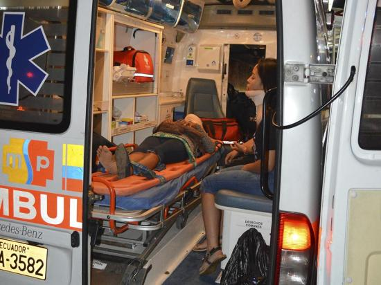 Seis personas heridas