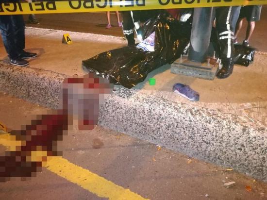 Motociclista muere tras accidente en la vía Portoviejo - Crucita