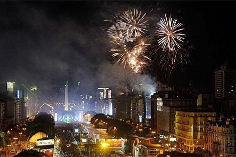 Más de 40 heridos por pirotecnia al celebrar Año Nuevo en Buenos Aires