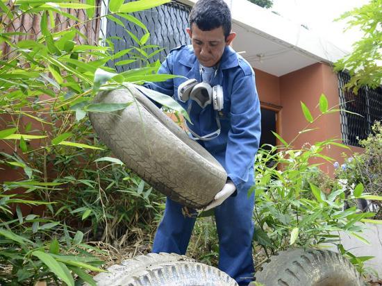 3.582 casos de dengue en el 2017