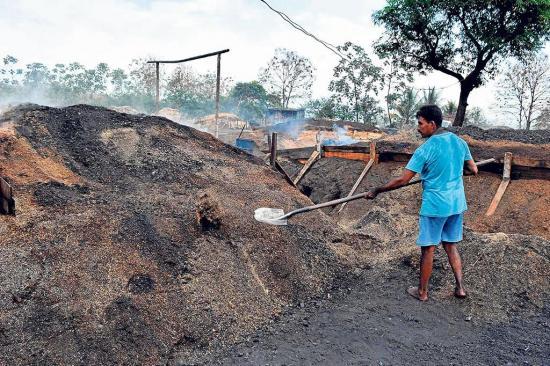 Los carboneros se niegan a morir