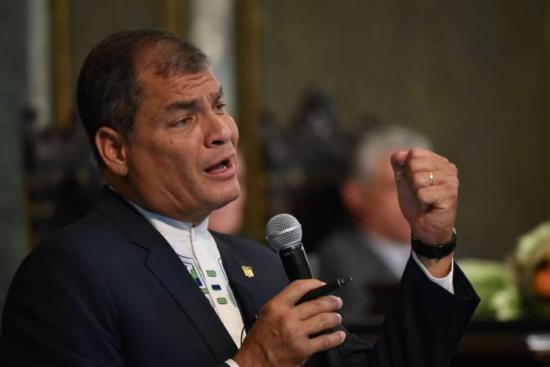 Expresidente Rafael Correa confirma que viajará a Ecuador este 4 de enero