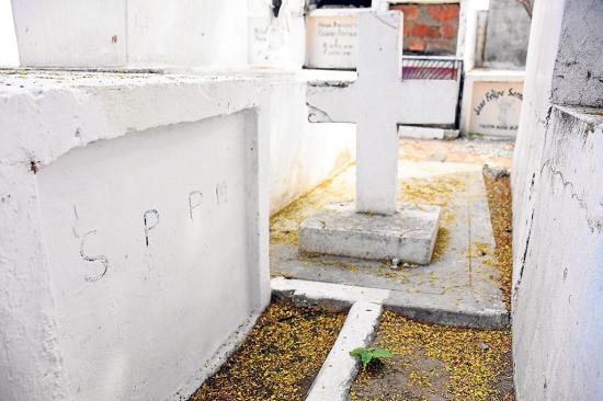 Las tumbas de los 'tristemente célebres'