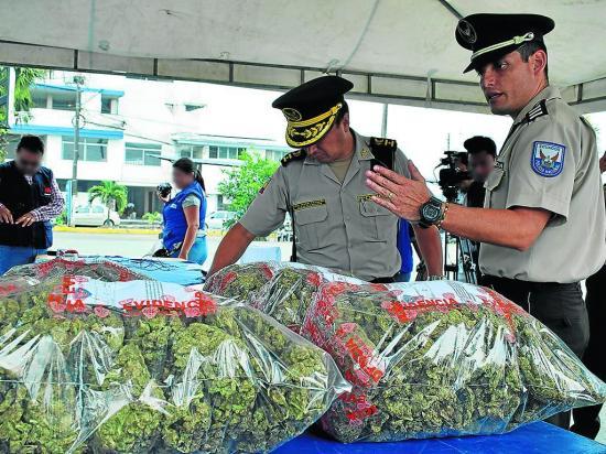 Cocaína y marihuana