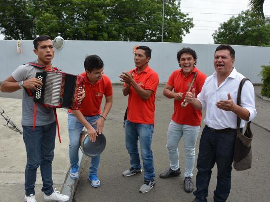 Jimmi y la nueva  generación del vallenato tienen amplio repertorio