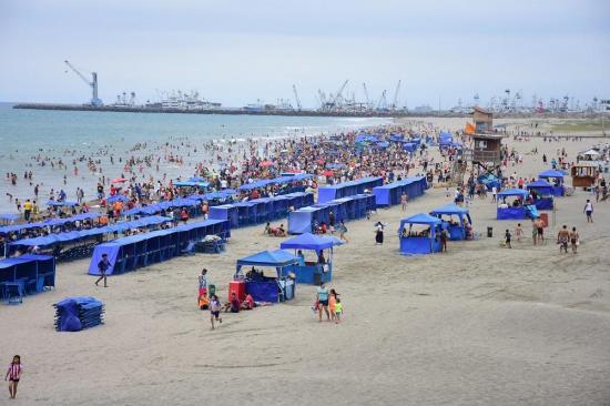 Inocar advierte de aguajes y descarta tsunami por 'recogimiento' del mar