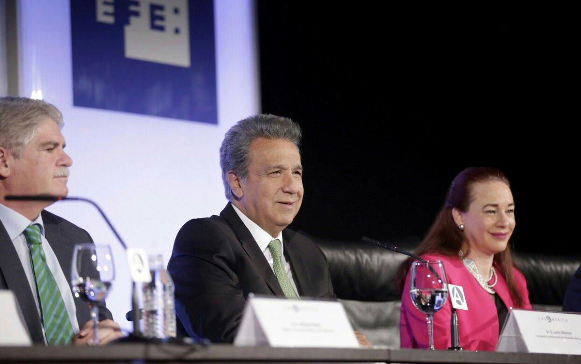 Presidente Lenín Moreno sufrió un 'percance' y suspende agenda