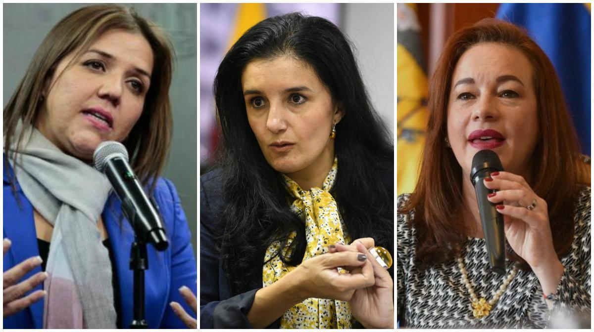 Tres mujeres en la terna para reemplazar al vicepresidente, según Zambrano