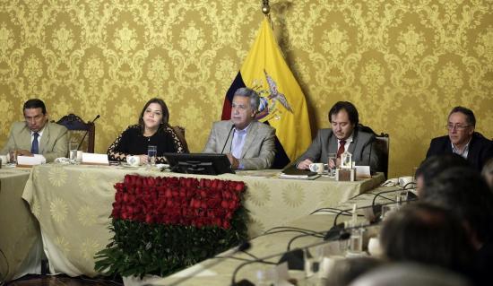 Presidente Moreno anuncia el cese de funciones de Jorge Glas