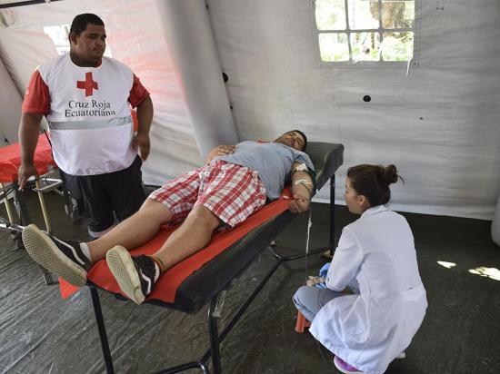 Campaña de la Cruz Roja busca recaudar 100 pintas de sangre