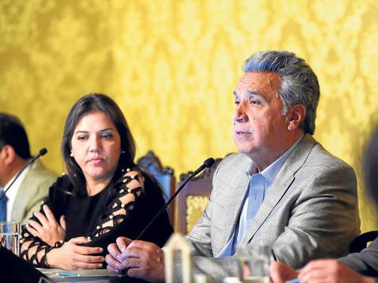 Presidente Moreno dice que Glas cesó en sus funciones
