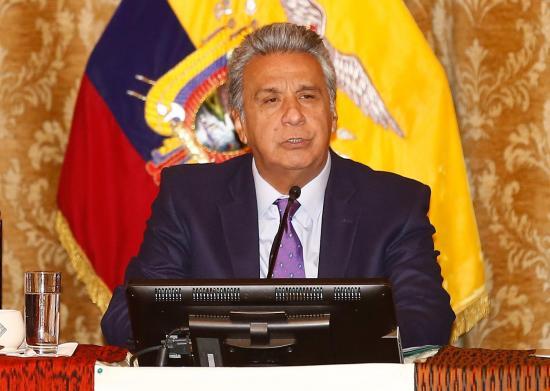 Presidente Moreno suspende sus actividades por 2 días tras accidente doméstico