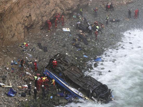 La tragedia de Lima fue provocada por el tráiler,  dicen investigadores