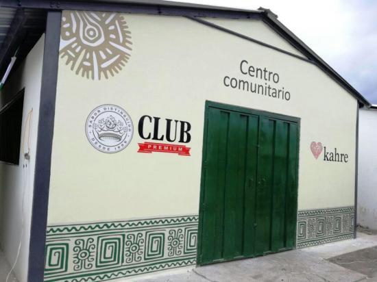 Marca de cervecería nacional inaugura hoy un centro comunitario