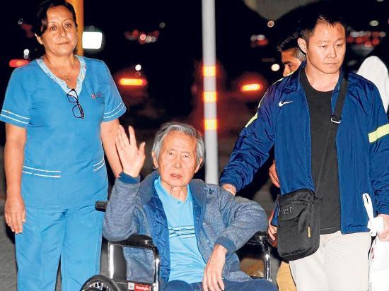Fujimori sale libre después de doce años