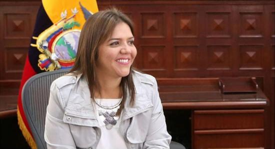 María Alejandra Vicuña es la nueva vicepresidenta del país