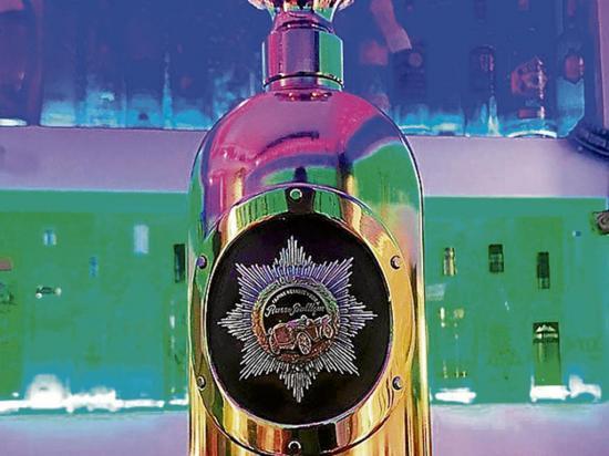Hallan la botella de vodka más cara del mundo... Pero vacía