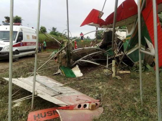 Accidente de avioneta deja un herido