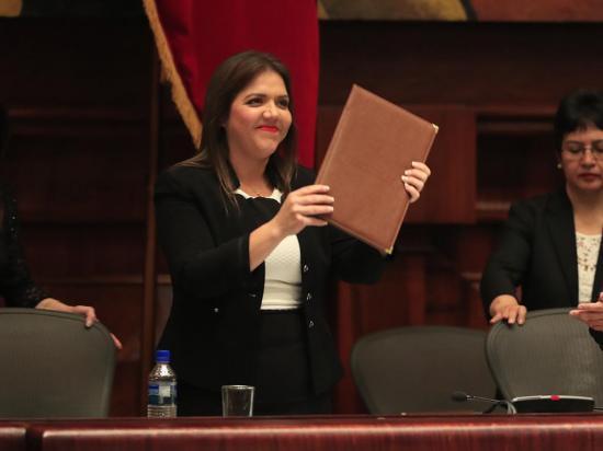 Vicuña es la  segunda mujer vicepresidenta