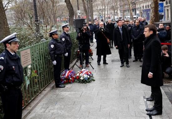 Macron conmemora los atentados contra 'Charlie Hebdo' y un supermercado judío