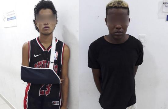 Policía los captura cuando escapaban