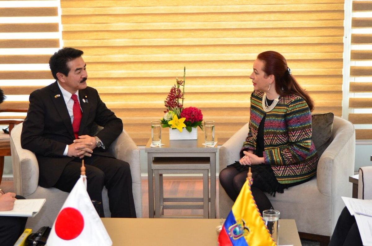 Ecuador y Japón relanzan agenda bilateral al cumplir 100 años de relaciones