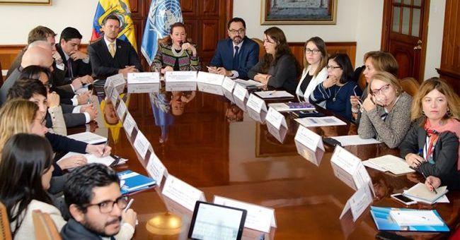 Ecuador y Naciones Unidas trabajan en un nuevo marco de cooperación