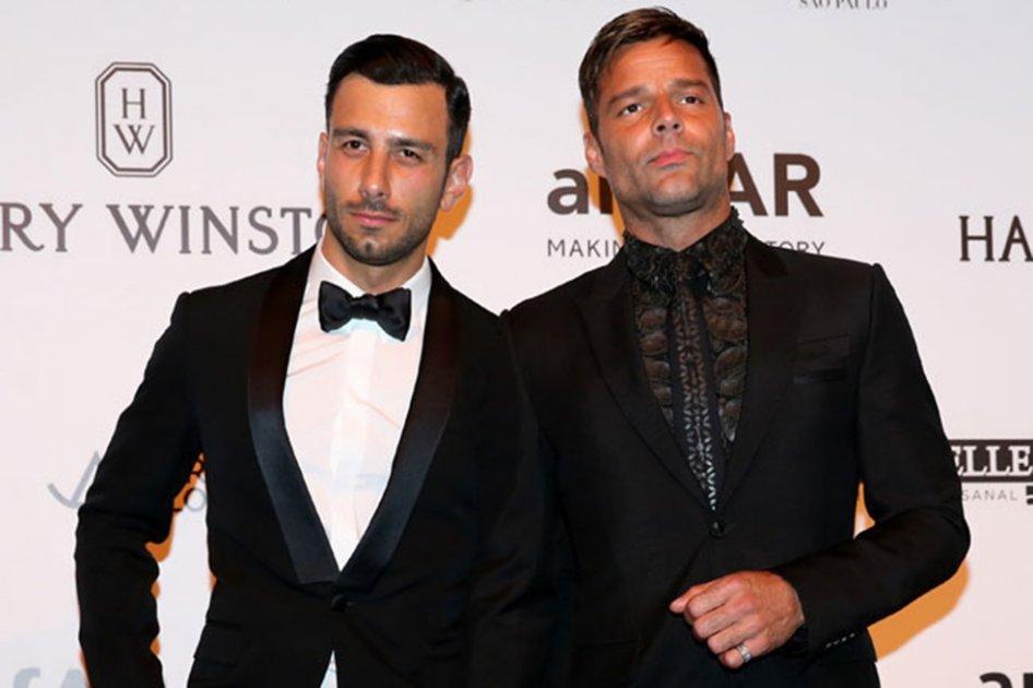 Ricky Martin anuncia que ya se casó con Jwan Yosef