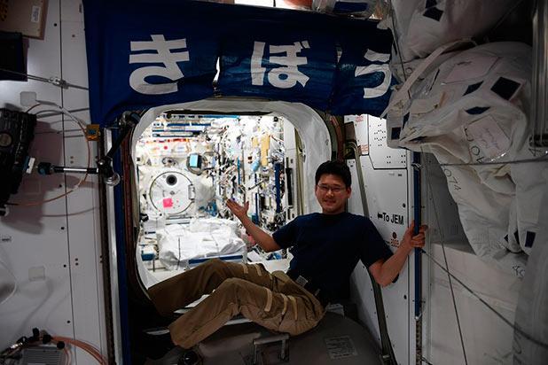 Astronauta japonés niega haber crecido 9 centímetros en la Estación Espacial y pide disculpas