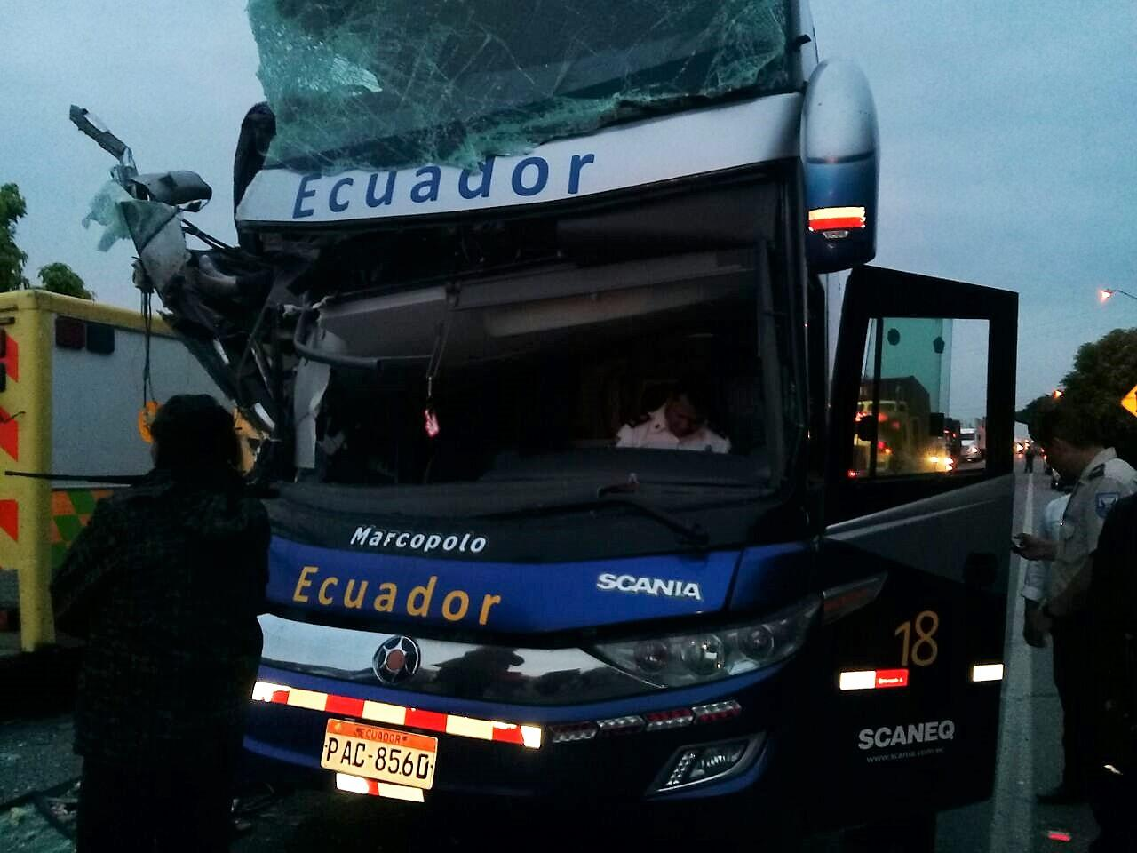 Exministra  se accidentó