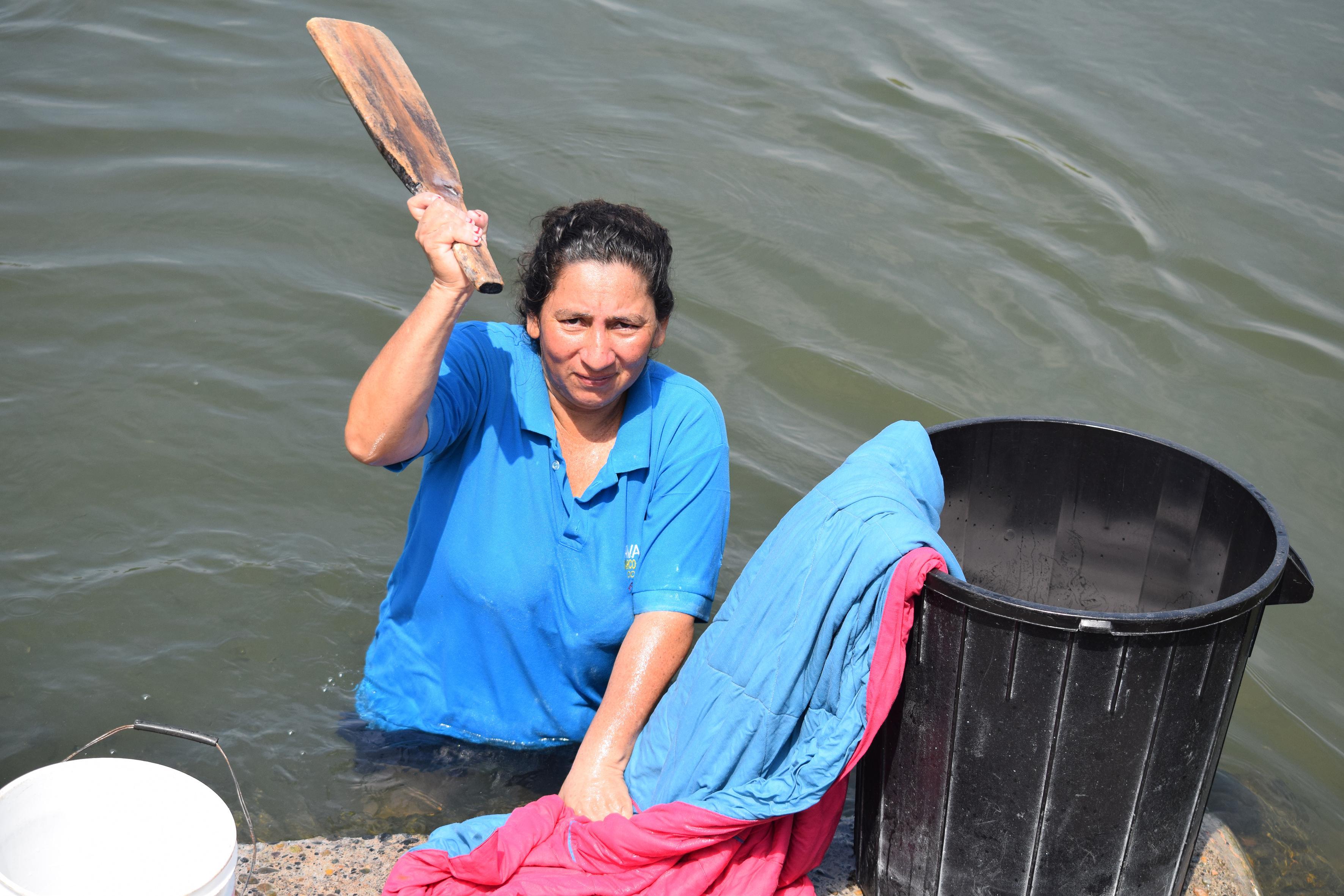 La dama del río Vinces
