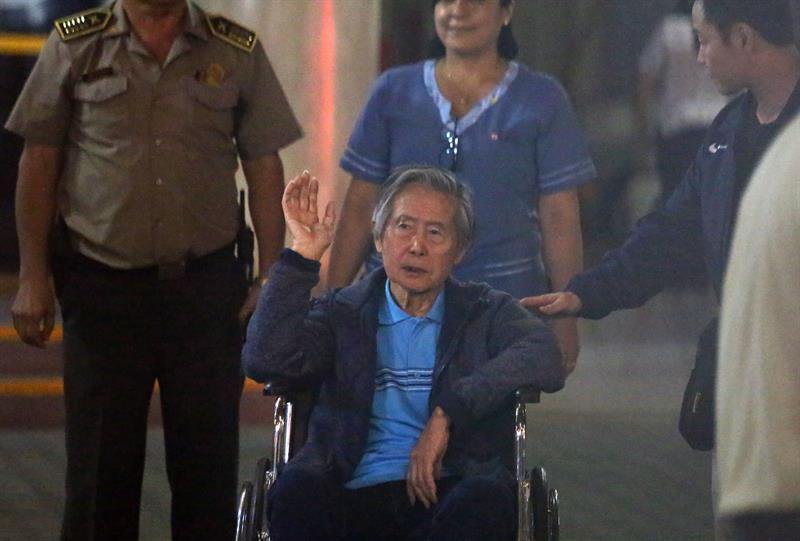 Fujimori quiere pagar deuda de 15 millones de dólares, afirma su abogado