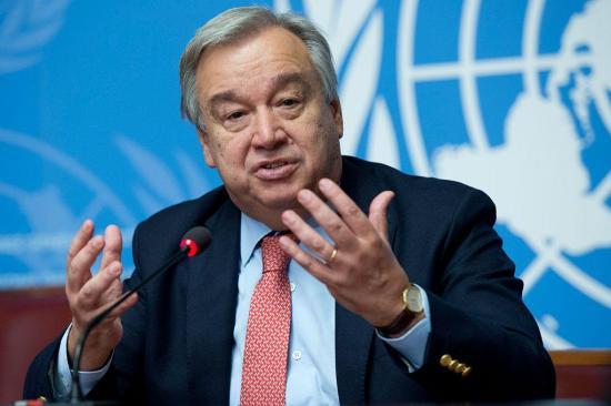 Guterres destaca el papel de Ecuador en el proceso de paz colombiano
