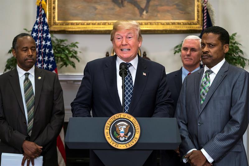 Trump supera su primer examen médico y goza de 'excelente salud'