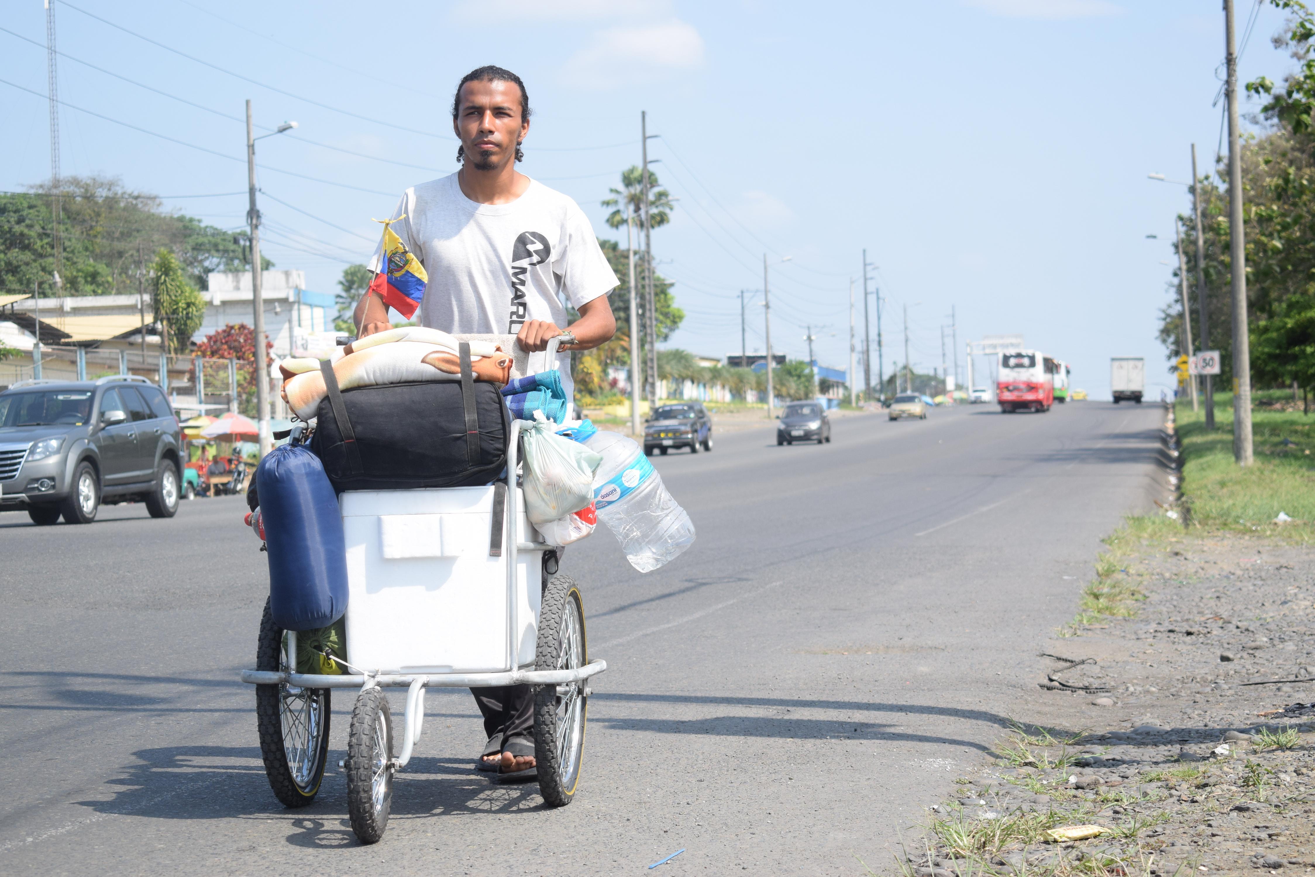 Dannes camina hacia Brasil