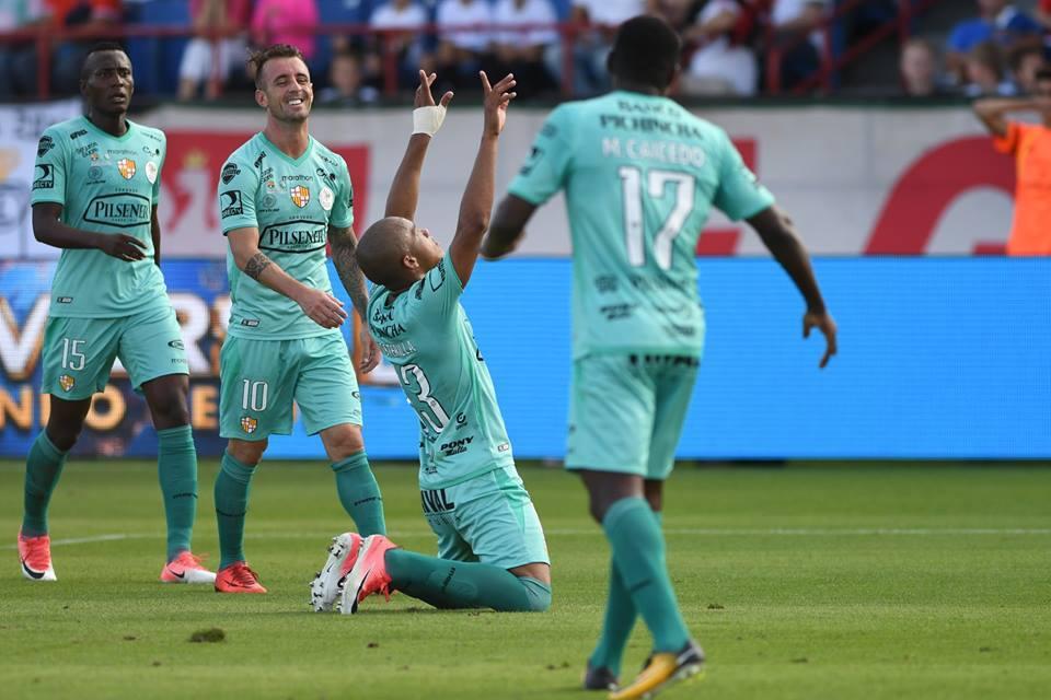 Barcelona SC vence por 3-2 al Legia de Varsovia en la Florida Cup