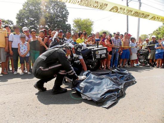 Salió a comprar y halló la muerte en la vía Portoviejo-Santa Ana