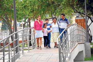 """Un escalón para ser una """"ciudad saludable"""""""
