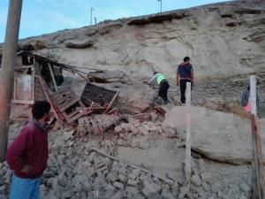 Reportan segundo fallecido tras terremoto registrado el domingo en Perú