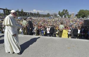 El papa dio a los jóvenes chilenos 'la contraseña' para conectarse con Jesús