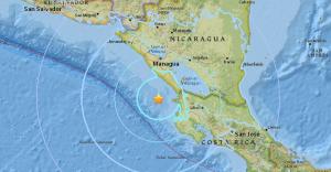 Un sismo de magnitud 4,1 sacude el Caribe norte de Nicaragua sin daños