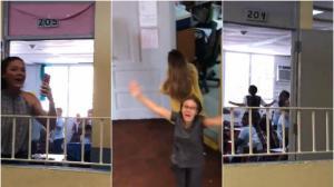 VÍDEO: Toda una escuela salta de alegría en Puerto Rico al volver la luz después de 112 días